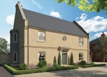 Thumbnail 4 bed semi-detached house for sale in Alconbury Weald, Former RAF/Usaaf Base, Huntingdon, Cambridgeshire