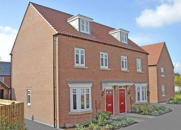 "Thumbnail 3 bed end terrace house for sale in ""Kennett"" at Melton Road, Queniborough, Leicester"
