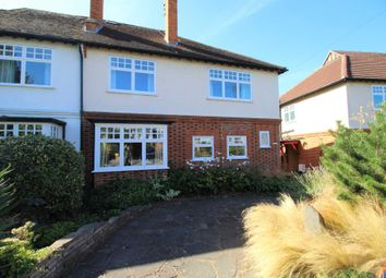 Thumbnail 4 bed semi-detached house for sale in Park Road, Brentwood