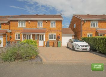Thumbnail 3 bedroom semi-detached house for sale in Sandy Grove, Brownhills, Walsall