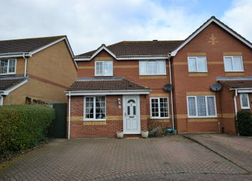 Thumbnail 3 bed semi-detached house for sale in Birch Close, Scarning, Dereham
