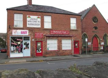 Thumbnail Restaurant/cafe for sale in 20 Market Street, Llangollen