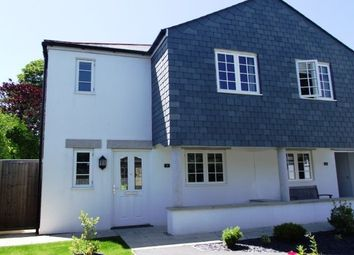 Thumbnail 2 bed end terrace house to rent in Kew Gwel Hir, St. Ives