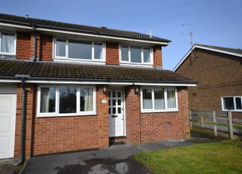 Thumbnail 3 bedroom end terrace house for sale in Purcell Close, Basingstoke