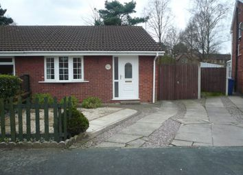 Thumbnail 2 bed bungalow to rent in Monkswood Close, Warrington, Cheshire