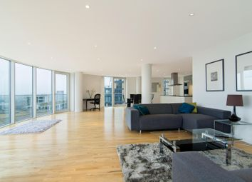 Thumbnail 3 bed flat to rent in Millharbour, London