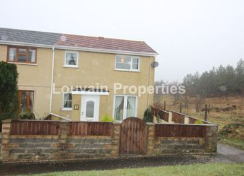 Thumbnail 3 bed property to rent in Yscuborwen, Tredegar, Blaenau Gwent.