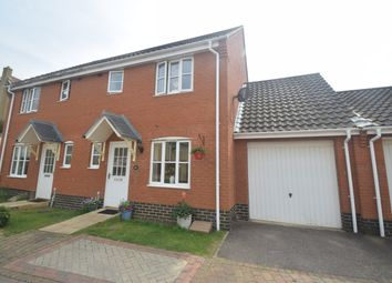 Thumbnail 3 bed semi-detached house for sale in Emmerson Way, Hadleigh, Ipswich