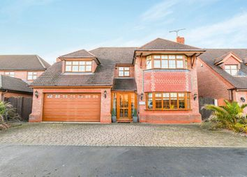 Thumbnail 5 bed detached house for sale in Stone Cross Drive, Widnes