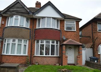 Thumbnail 3 bed semi-detached house to rent in Coventry Road, Yardley, Birmingham