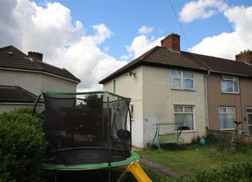 Thumbnail 2 bedroom end terrace house for sale in Highgrove Road, Dagenham, Essex