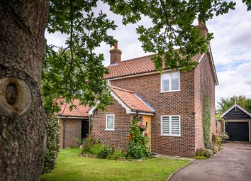 Thumbnail 3 bed detached house for sale in Mill Road, Thorpe Abbotts, Diss