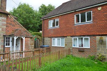 Thumbnail 2 bed end terrace house to rent in Granary Cottages, Selsfield Road, East Grinstead, West Ssuusex