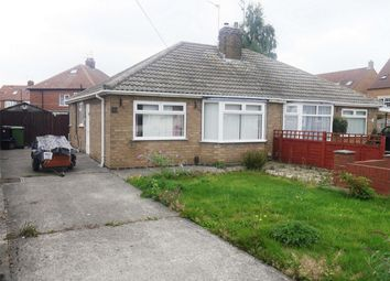 Thumbnail 2 bedroom semi-detached bungalow for sale in Elma Grove, Rawcliffe, York