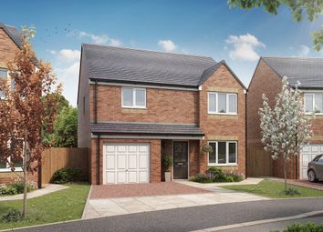 "Thumbnail 4 bed detached house for sale in ""The Balerno "" at Stobhill Road, Gorebridge"
