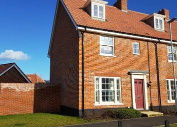 Thumbnail 3 bed end terrace house to rent in Simpson Way, Barrow, Bury St. Edmunds