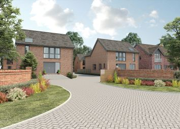 Thumbnail 4 bed detached house for sale in Hampton Gate, Friday Lane, Solihull