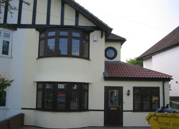 Thumbnail 4 bed semi-detached house to rent in Nightingale Road, Petts Wood, Orpington, Kent