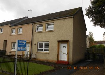 Thumbnail 2 bed end terrace house to rent in Croftspar Drive, Springboig, Glasgow