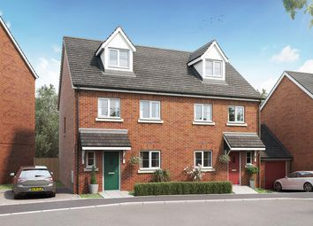 """Thumbnail 4 bed terraced house for sale in """"The Aslin"""" at Tithe Barn Lane, Exeter"""