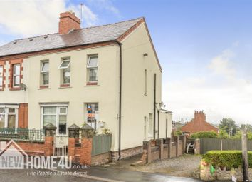 Thumbnail 3 bed semi-detached house for sale in Queen Street, Leeswood, Mold