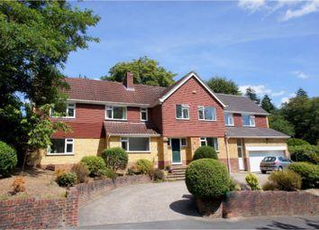 Thumbnail 6 bed detached house for sale in The Fairway, Camberley