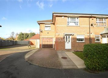Thumbnail 3 bed end terrace house for sale in Sandwick Close, London