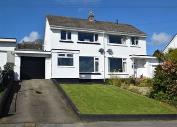 Thumbnail 3 bed semi-detached house for sale in Mongleath Close, Falmouth