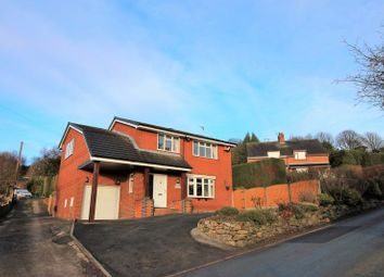 Thumbnail 4 bed detached house for sale in Wychelms, Mow Cop Road, Mow Cop