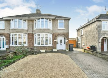 Thumbnail 3 bedroom semi-detached house for sale in Okus Grove, Swindon