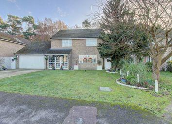 Thumbnail 4 bed detached house for sale in Saffron Close, Brandon