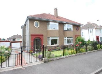 Thumbnail 3 bed semi-detached house for sale in Rowandale Avenue, Baillieston, Glasgow, Lanarkshire