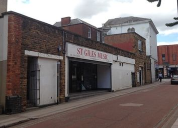 Thumbnail Retail premises to let in St Giles Terrace, Northampton