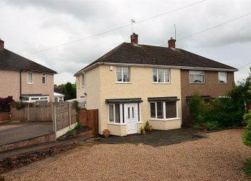 Thumbnail 3 bed semi-detached house for sale in Fritchley Close, Chaddesden, Derby