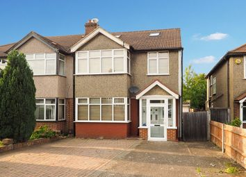 Thumbnail 5 bed semi-detached house for sale in Priory Crescent, Cheam, Sutton