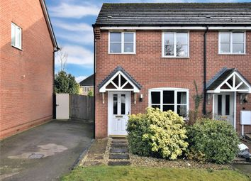 Thumbnail 2 bed end terrace house for sale in Harborough Close, Whissendine, Oakham