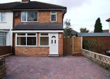 Thumbnail 3 bed semi-detached house to rent in Fox Green Crescent, Acocks Green, Birmingham