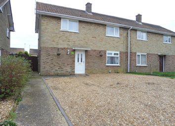 Thumbnail 3 bed semi-detached house for sale in Feldale Place, Whittlesey, Peterborough