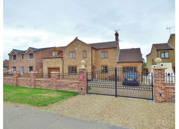 Thumbnail 4 bed detached house for sale in Burnthouse Road, Turves, Whittlesey