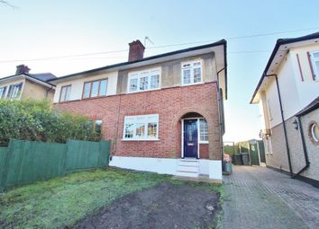 Thumbnail 3 Bed Semi Detached House For Sale In Dominion Drive Romford