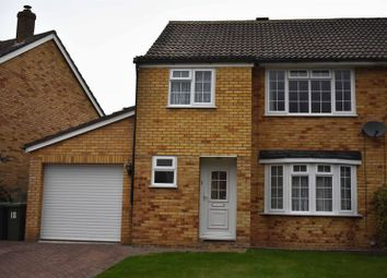 Thumbnail 3 bed semi-detached house to rent in Tiverton Road, Basingstoke