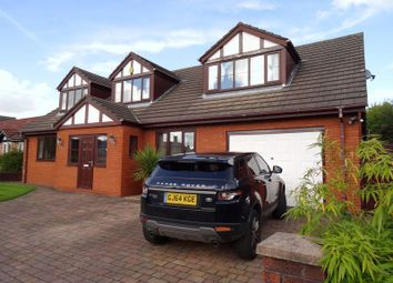 Thumbnail 4 bedroom detached house for sale in Ridge View, Macclesfield