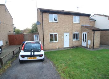 Thumbnail 2 bed semi-detached house for sale in Queensway, Barwell, Leicester