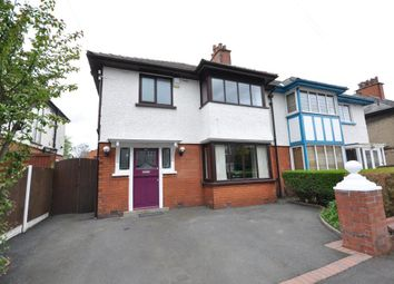 Thumbnail 3 bed semi-detached house for sale in Manor Avenue, Fulwood, Preston, Lancashire