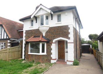 Thumbnail 3 bed detached house for sale in Haynes Road, Worthing
