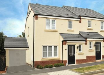 Thumbnail 3 bedroom semi-detached house to rent in Wenlock Rise, Bridgnorth