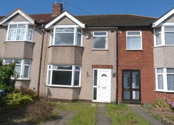 Thumbnail 3 bedroom terraced house to rent in Tile Hill Lane, Tile Hill, Coventry