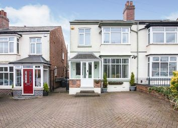 Thumbnail 3 bed semi-detached house for sale in Lodge Hill Road, Birmingham, West Midlands