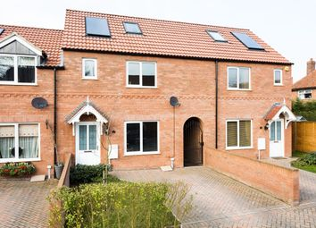 Thumbnail 3 bed terraced house for sale in Netherwoods, Strensall, York