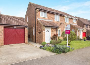 Thumbnail 3 bed semi-detached house for sale in Botwright Drive, Swaffham